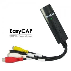 EasyCAP Perfectly Simple 1 Channel Video Capture USB Type-C DVR